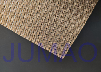 Light Architectural Metal Fabric Customized Art Wire Mesh For Space Divider