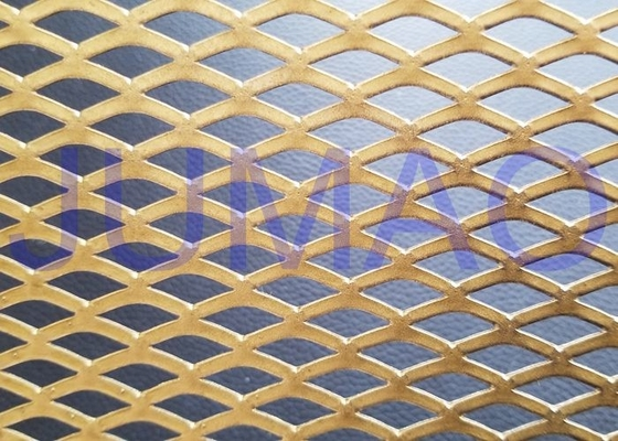 Functional Facade Treatment Architectural Expanded Metal Mesh Striking Cladding