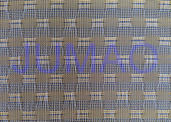 Glass Laminated Woven Metal Wire Mesh Fabric For Art Design And Wire Glass