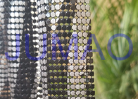 China Various Color Metal Mesh Cloth Aluminum Alloy 4 Sequins With Images On Surface company