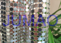 China Decorative Bling Aluminum Metal Sequin Fabric Light Silver With 4 Branches company